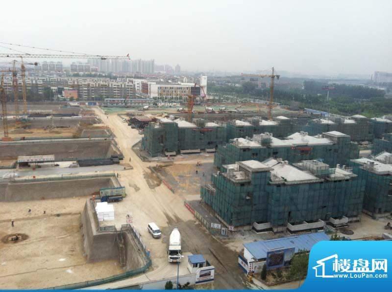兴创屹墅施工实景图201208
