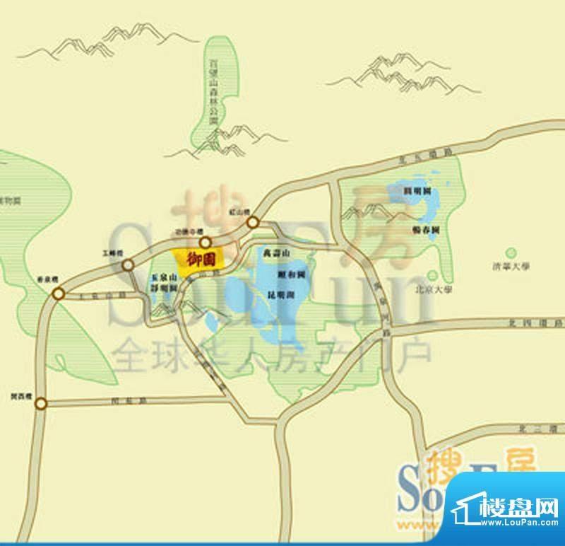 御园交通图