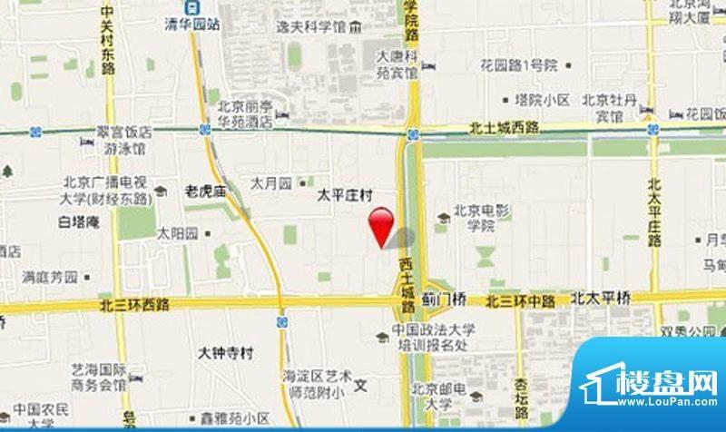 东升乡居住商业项目区域交通图