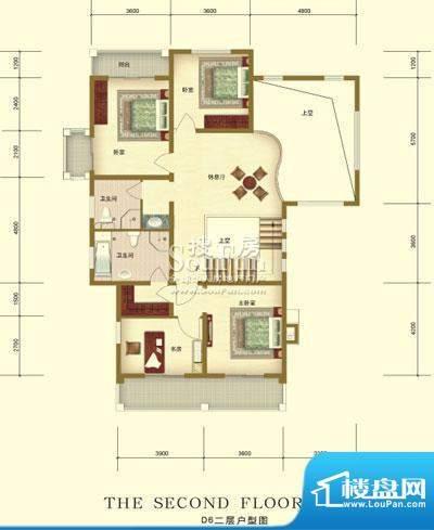 彼岸香醍一期d6户型-二层 3室2