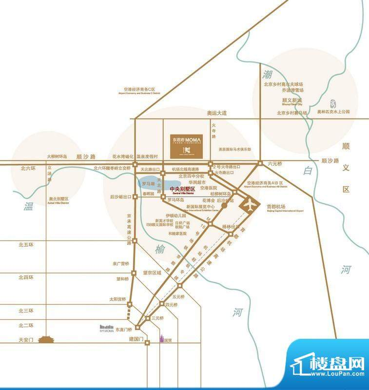 东君府MOMA 交通图