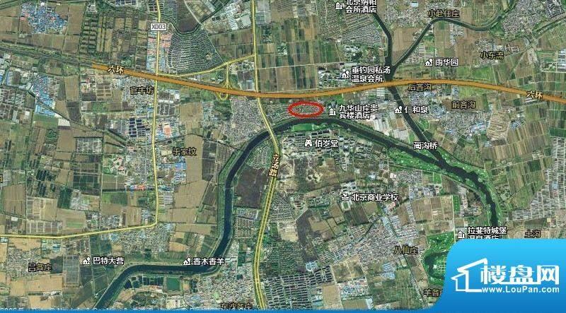 玫瑰温泉酒店交通图