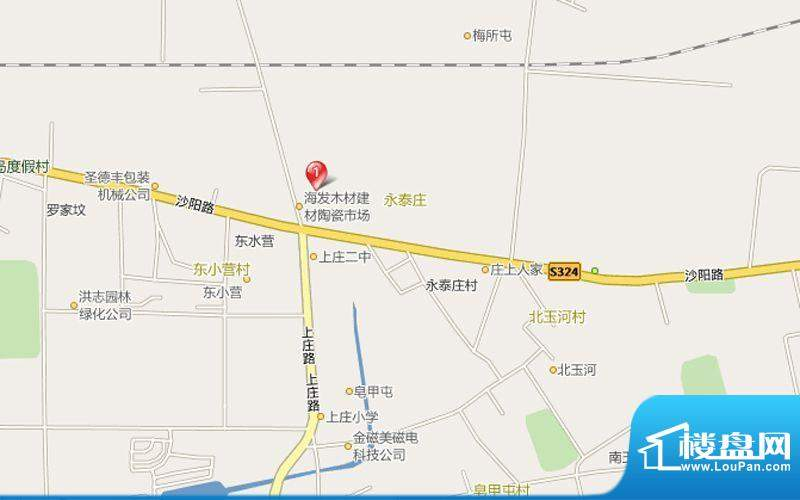 上庄馨瑞嘉园交通图