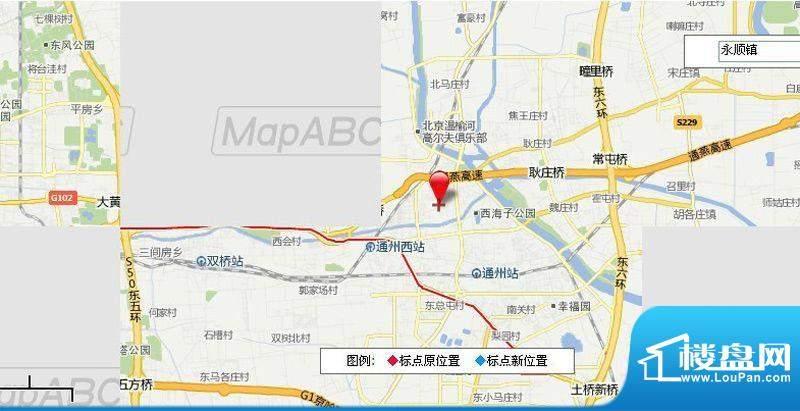 珠江地产通州区永顺镇地块效果图