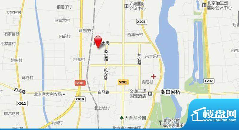 马坡镇新城9号地交通图