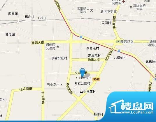 天旭通州半壁店地块效果图
