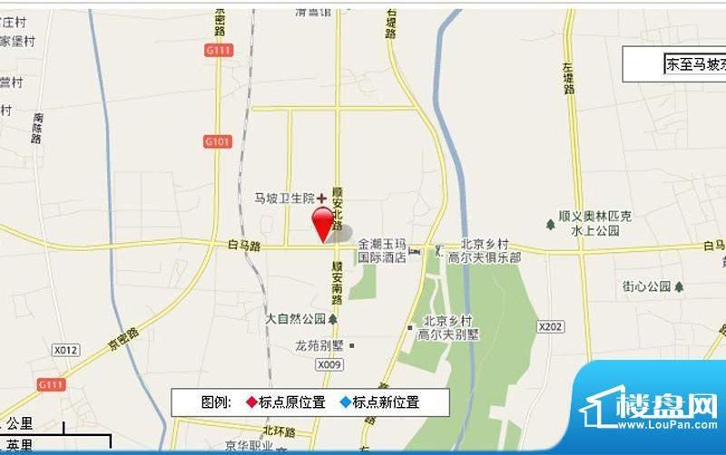 马坡东侧(地块二)居住项目用地效果图