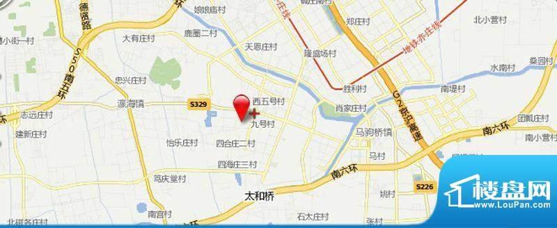 开发区回迁房项目交通图