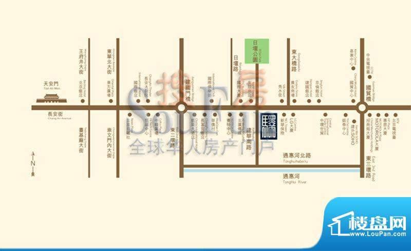 地杰长安驿位置图
