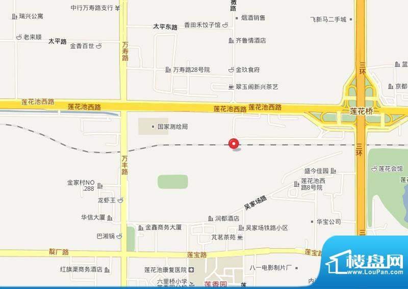 海淀区吴家场项目交通图