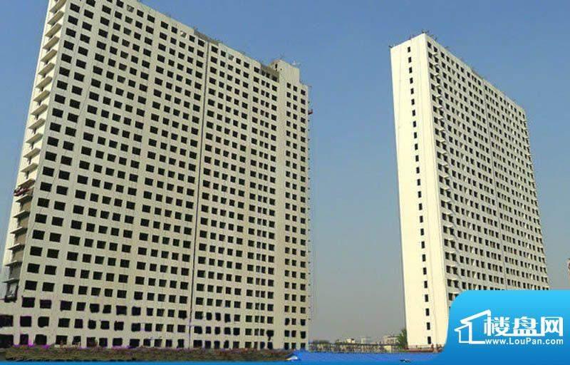 海淀区吴家场项目楼栋实景图2011-11
