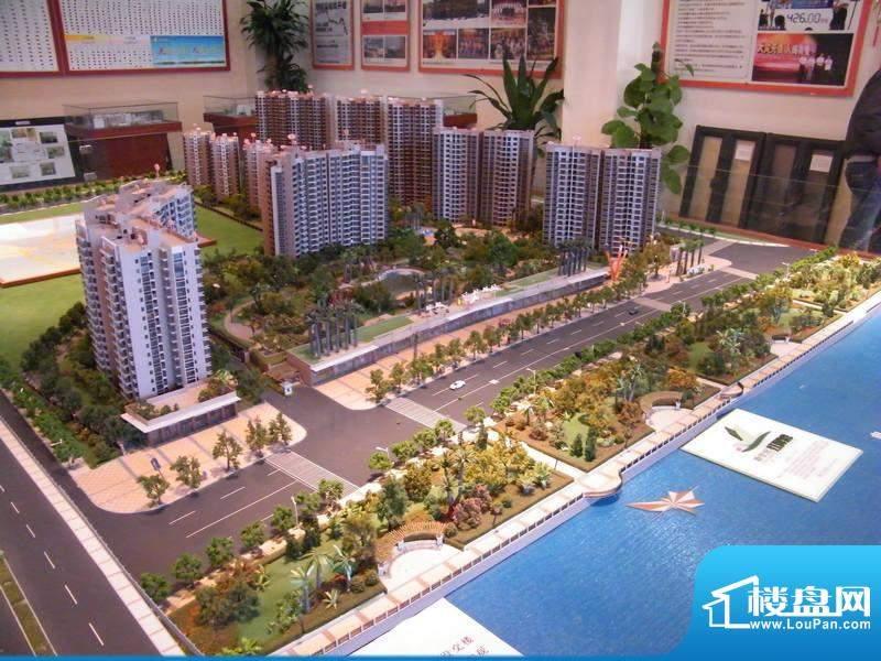 新世纪江畔湾沙盘展示图(2010.12.30)