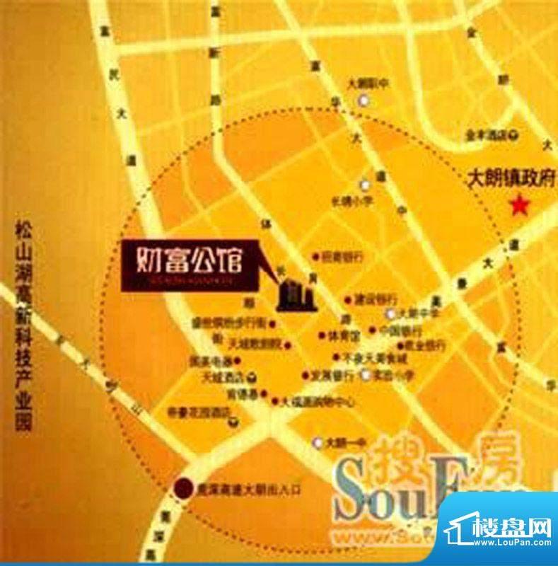 金泓财富公馆交通图