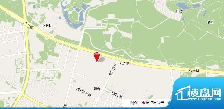 皇马郦宫项目交通图