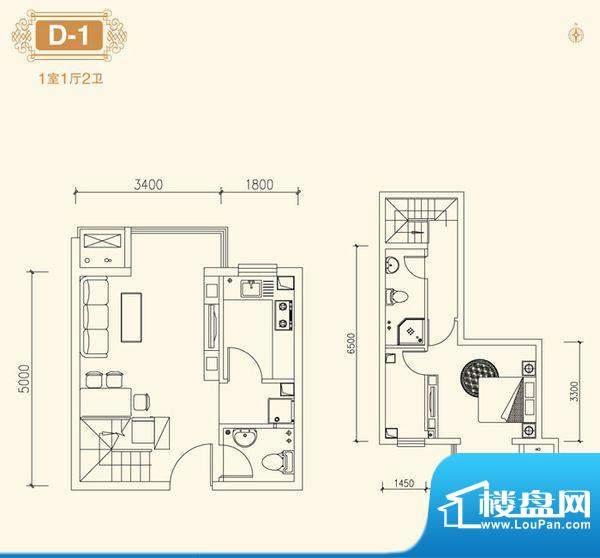 6室 户型图