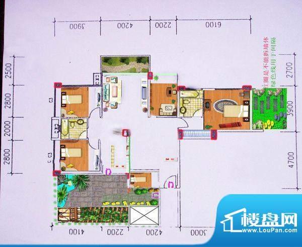 5室 户型图