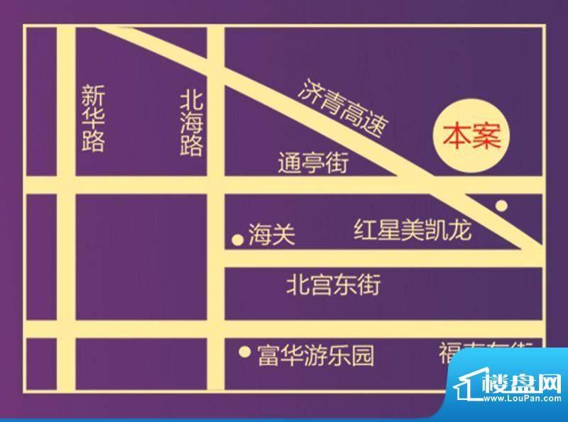 惠和园位置图