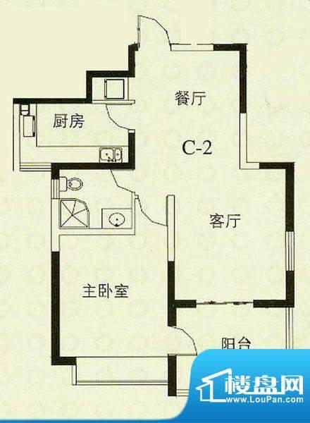华辰丽景 3室 户型图面积:114.00平米