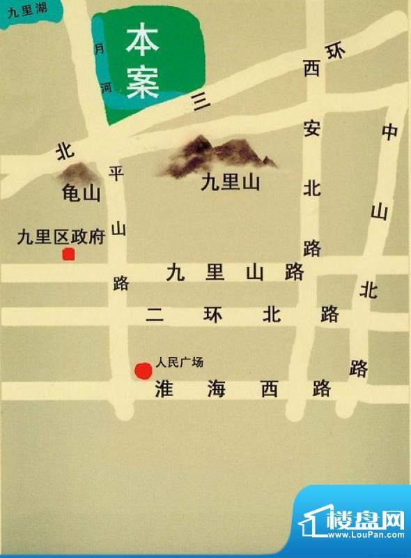 徐矿城交通图