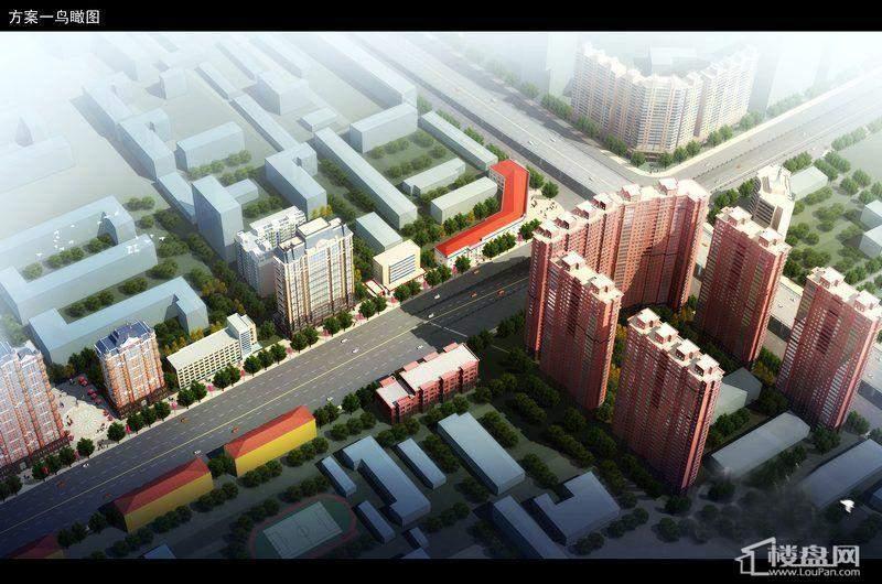 峰尚福成二期鸟瞰图(2011.10.28)