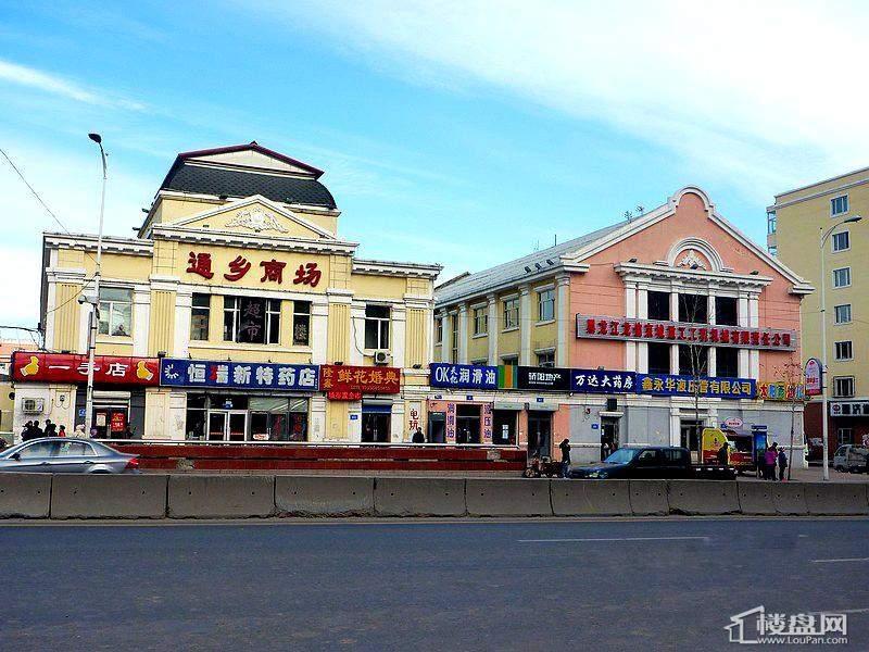 格兰云天项目周边配套通乡商场(2012-10-19)