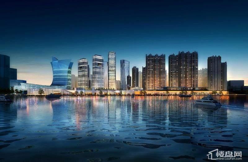 宝宇天邑澜湾效果图项目沿江天际线