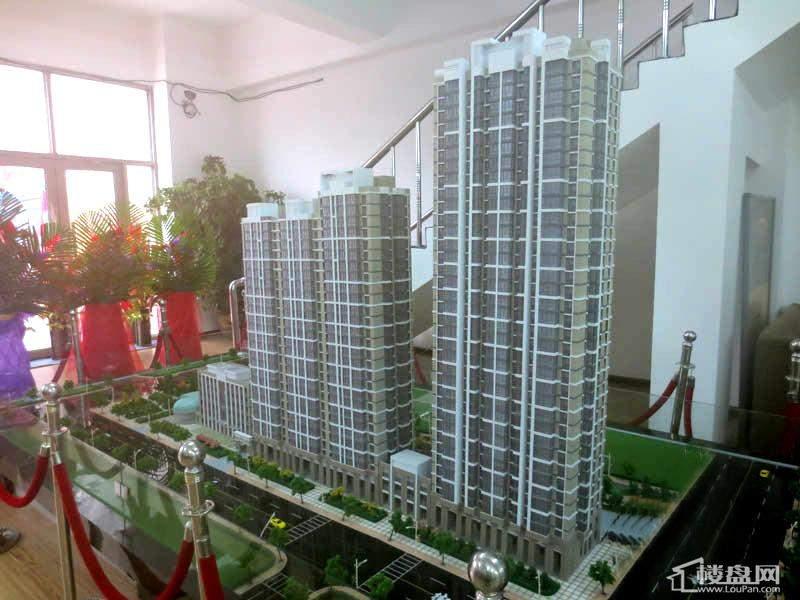 江城之珠项目沙盘实景图(2012-11-13)