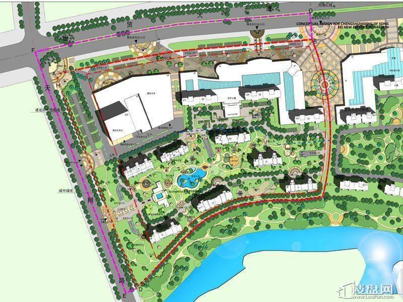 城市之星项目规划图