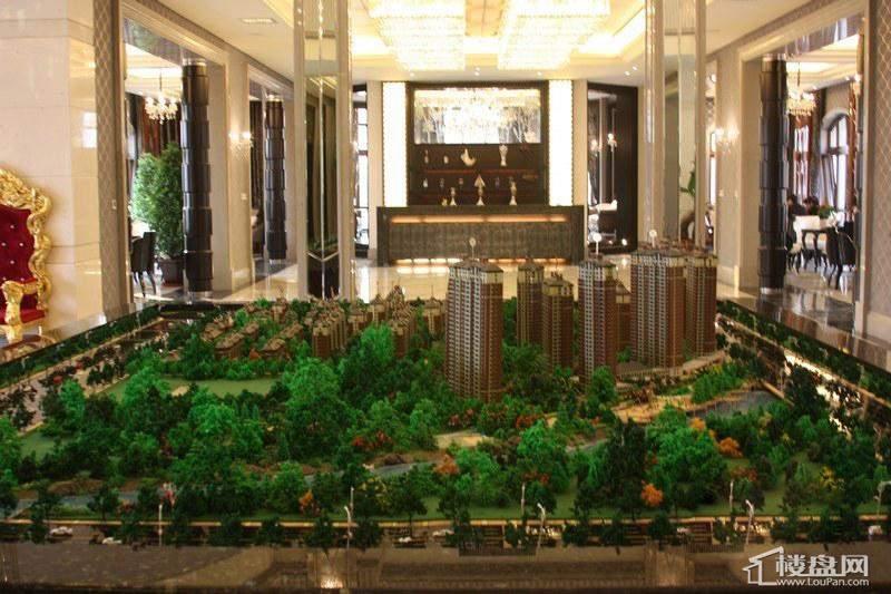 辰能溪树河谷项目沙盘(2012-10-26)