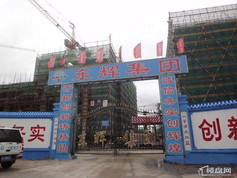 天悦项目施工大门(2012-8-6)