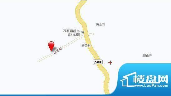 千山明月清泉交通图
