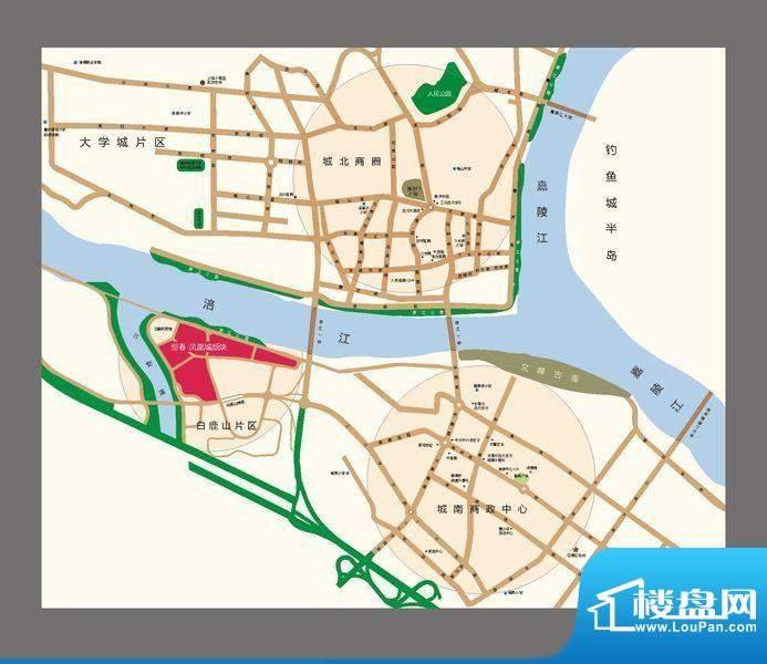 恒春凤凰城交通图