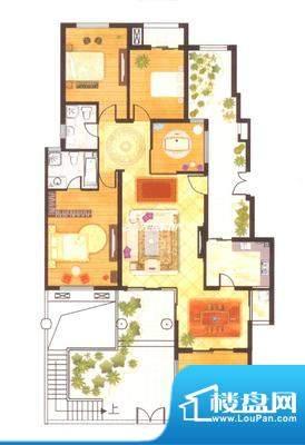 澳海水岸蓝山户型图户型图2 3室