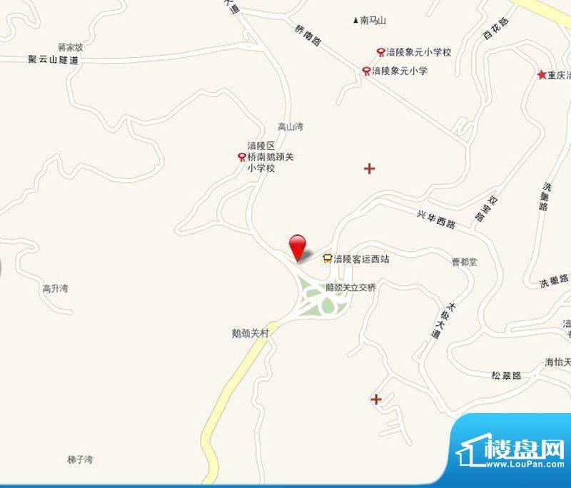泽胜依山郦景交通图