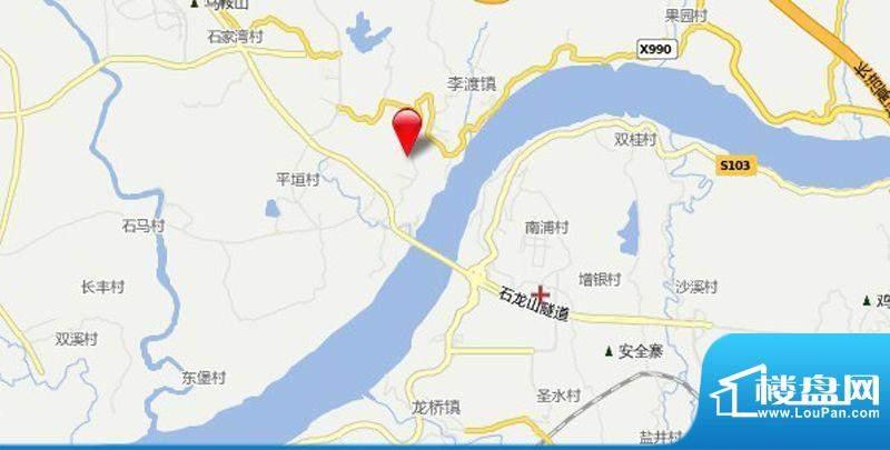 涪陵金科中央公园城交通图