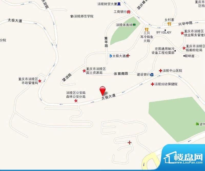 龙湾南湖MOCO交通图