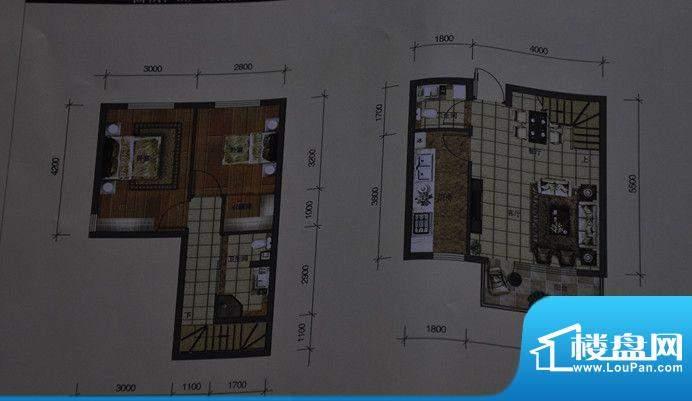 中天城市广场两室两面积:0.00m平米