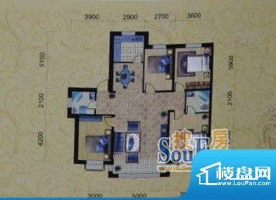 金城福邸146平方米 面积:146.00m平米