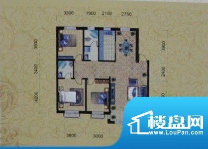 金城福邸137平方米 面积:137.00m平米