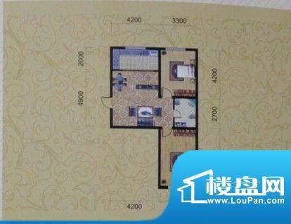 金城福邸85平方米 2面积:85.00m平米