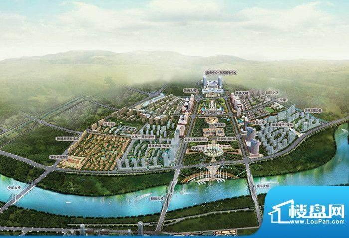 意航世纪城一期锦绣澜湾效果图