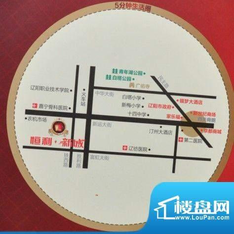 恒利新城交通图