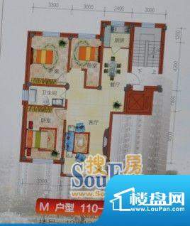 恒利新城113平方米 面积:113.00m平米