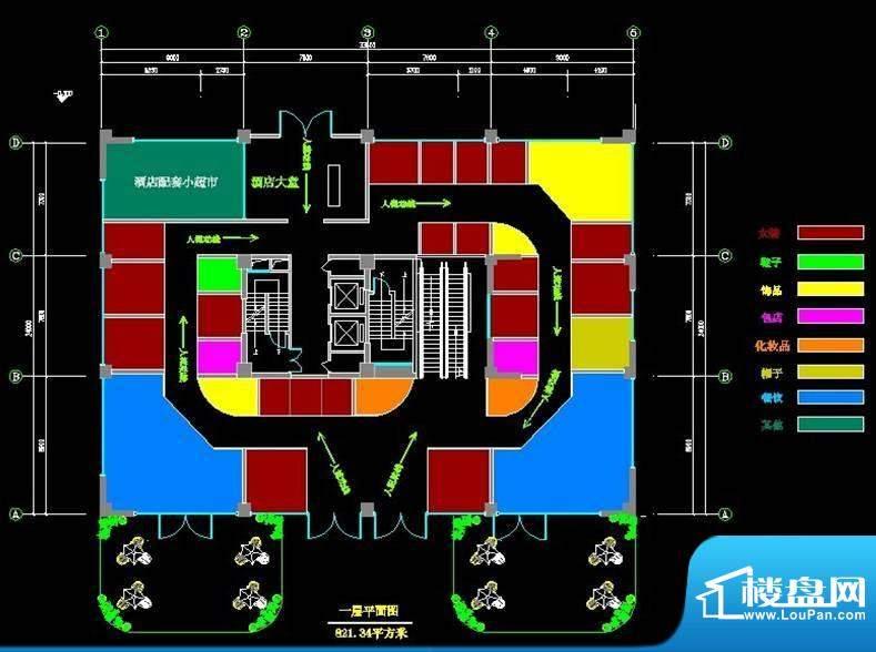 菲霖公馆一层商铺平面积:0.00m平米