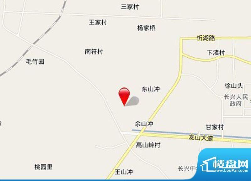 香悦四季花园交通图