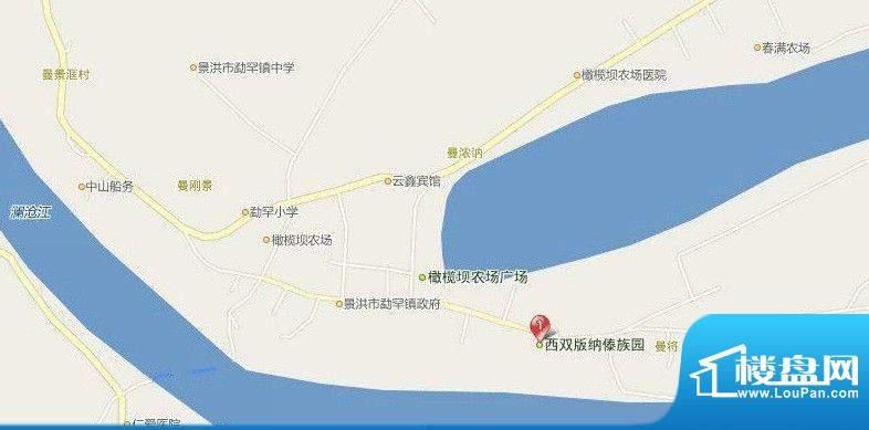 楠景新城交通图