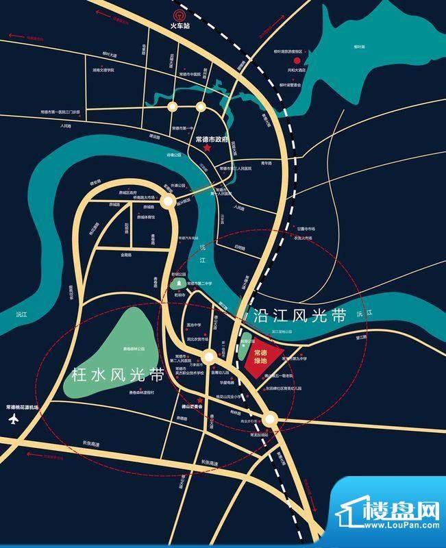 绿地新都会区域图