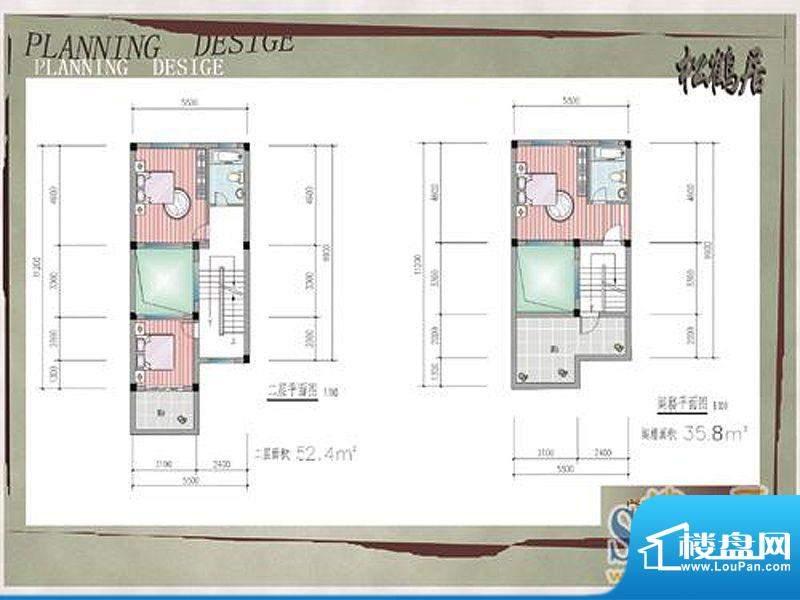 林枫墨庄户型图松鹤居 3室1厅2面积:178.99平米