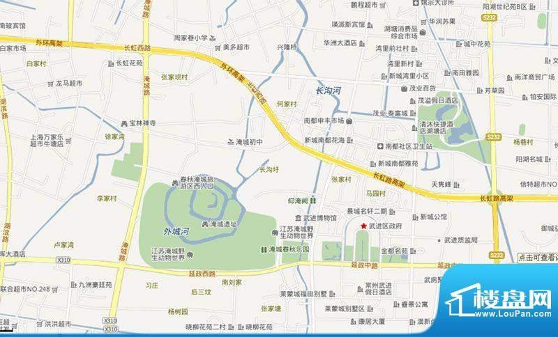 常州红星国际广场交通图