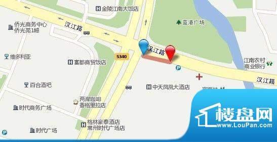 汇鸿商务广场交通图